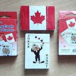 Настольные игры - Карты Игральные Канада Кленовый Лист из Канады, 0