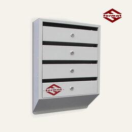 Почтовые ящики - Почтовый ящик Оптима Люкс 4-х секционный (Торговое оборудование), 0