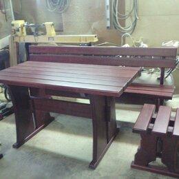 Скамейки - Изготовим комплект садовой мебели , 0