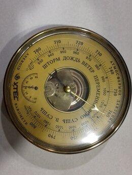 Метеостанции, термометры, барометры - Настенный барометр анероид, 0
