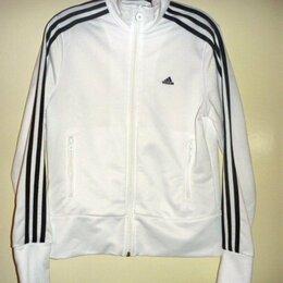 Спортивные костюмы - Олимпийка женская Adidas белая 46 размер, 0