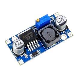 Радиодетали и электронные компоненты - Понижающий DC-DC преобразователь LM2596, 0