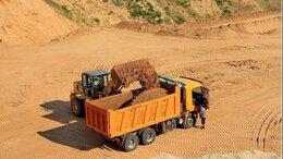 Строительные смеси и сыпучие материалы - Песок, пгс с доставкой от 1 куба (1086), 0