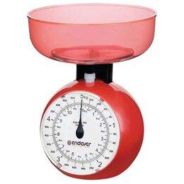 Кухонные весы - Весы кухонные механические Endever KS-516 красный, 0