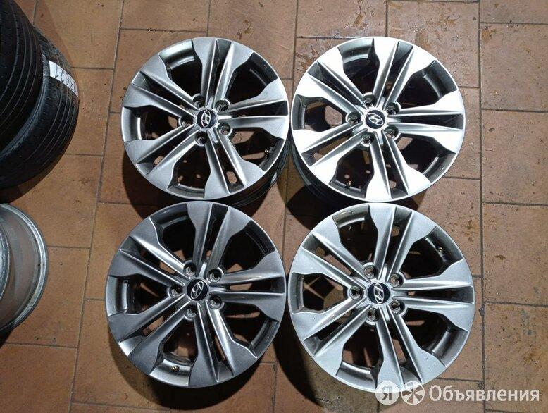 Диски БУ оригинал R17  на Hyundai Kia   по цене 9350₽ - Шины, диски и комплектующие, фото 0