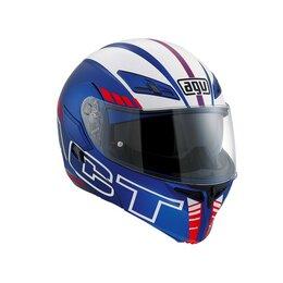 Спортивная защита - Шлем модуляр AGV COMPACT ST MULTI Seattle Matt Blue/White/Red, 0