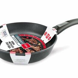 Сковороды и сотейники - Сковорода Нева Металл Титан линия Особенная 9024, 0