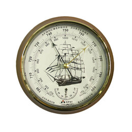 Метеостанции, термометры, барометры - Барометр Утес БТК-СН-16 с закрытой белой шкалой, 0