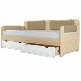Кровати - Кровать-Тахта Стиль.Кофе (900.4) + Комплект…, 0