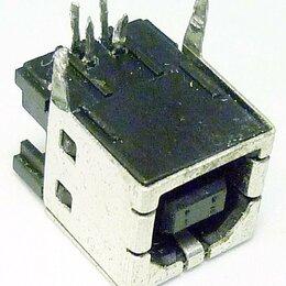 Компьютерные кабели, разъемы, переходники - Разъем USB 2.0 type B, 0