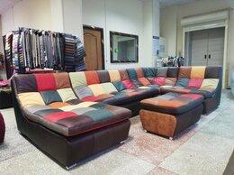 Диваны и кушетки - диван угловой модульный кожаный, 0