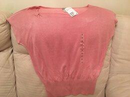 Блузки и кофточки - Розово-коралловая блузка вискозная с биркой 44…, 0