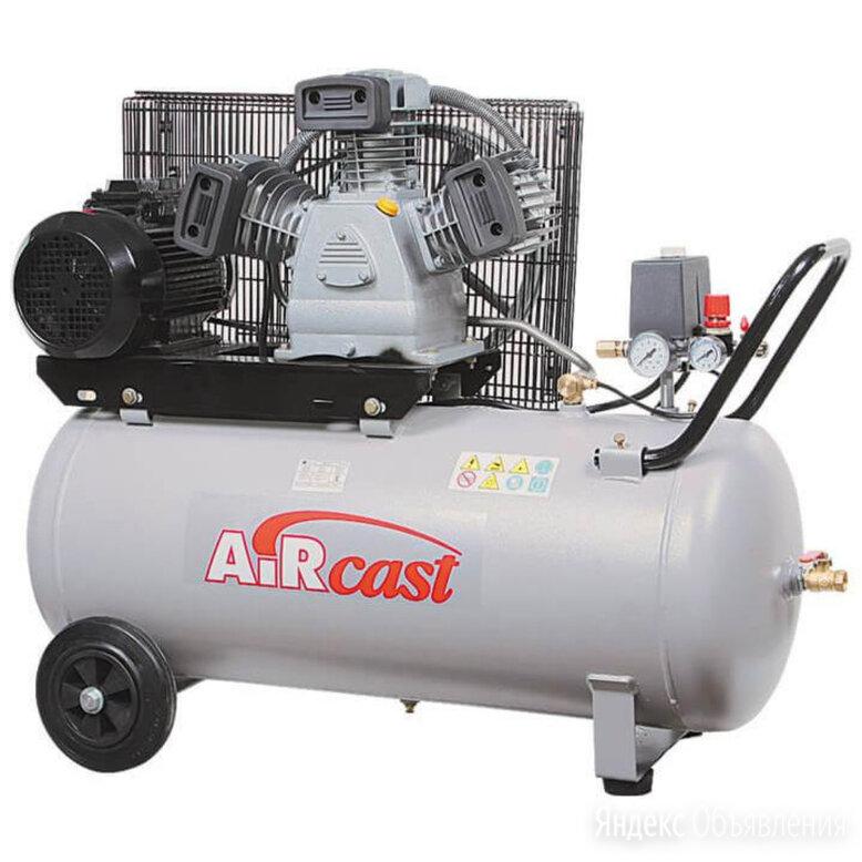 Компрессор поршневой 500 л/мин. 380 В. Ремеза СБ4C-100 LB30 3.0 по цене 54808₽ - Воздушные компрессоры, фото 0