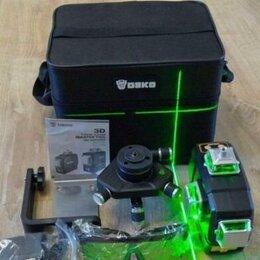 Измерительные инструменты и приборы - Аккумуляторный лазерный уровень 3 плоскости, 0