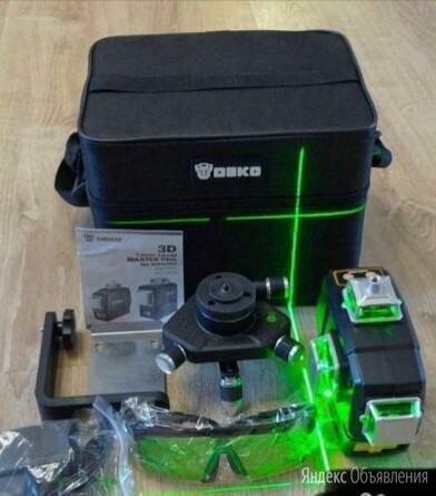 Аккумуляторный лазерный уровень 3 плоскости по цене 7000₽ - Измерительные инструменты и приборы, фото 0