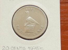 Монеты - РОДЕЗИЯ  20 центов 1975 г., 0
