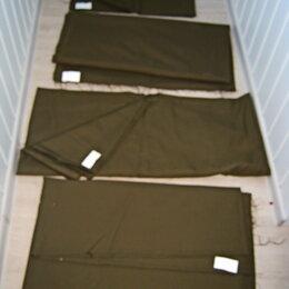 Ткани - ткань Шерсть с лавсаном  темно зеленая , есть 4 отреза, 0