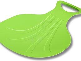 Санки и аксессуары - Санки-ледянки INDIGO SM-175 Зеленый, 0
