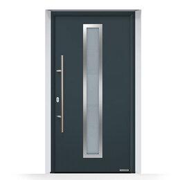 Входные двери - Входная дверь Hormann Thermo65 THP 700A, Cерый…, 0