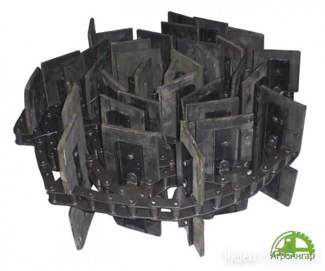 Транспортер загрузочный скребковый наклонный ЗП 02.060 37скр. L=8,3м по цене 9400₽ - Производственно-техническое оборудование, фото 0