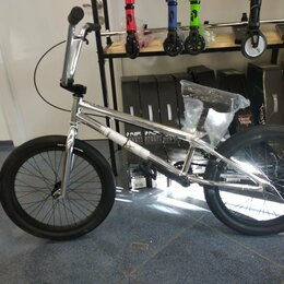 Велосипеды - Велосипед BMX TT Millennium хром, 0
