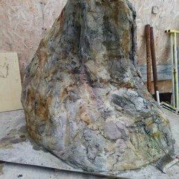 Декоративные фонтаны - крышка на люк, искусственные камни, 0