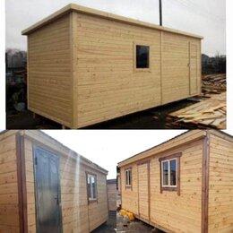 Готовые строения - Бытовка деревянная новая 6х2.30 А-43, 0