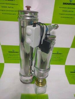 Грили, мангалы, коптильни - Дымогенератор с охладителем, 0