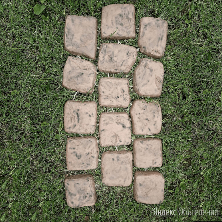 Брусчатка на гибких связках по цене 240₽ - Садовые дорожки и покрытия, фото 0