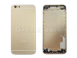 Корпусные детали - Задняя крышка для iPhone 6 Plus (золото) класс AAA, 0