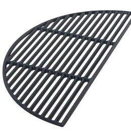 Решетки - Решетка чугунная полукруглая для гриля ХL Big Green Egg, 0