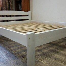 Кровати - Кровать из массива дерева твердолиственных пород, 0