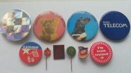 Жетоны, медали и значки - Иностранные значки, 0