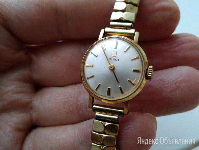 Часы позолоченные..ТИССОТ по цене 20000₽ - Наручные часы, фото 0