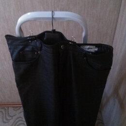 Брюки - Мужские кожаные брюки, 0