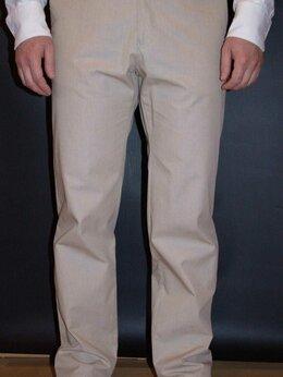 Брюки - Новые бежевые летние брюки, 0