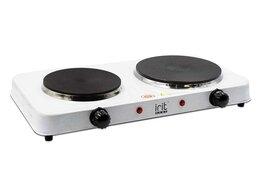 Плиты и варочные панели - Плитка электрическая Irit IR-8220 белый, 0