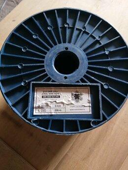 Такелаж - Стальной трос 3 мм DIN 3055 (6x7+FС) 200м., 0