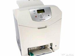 Принтеры и МФУ - Цветной лазерный принтер Lexmark C534n + картриджы, 0