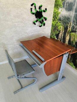Компьютерные и письменные столы - Стол-парта Дэми со стулом, 0