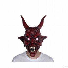 Карнавальные и театральные костюмы - Маска черта, дьявола, сатаны, демона, 0