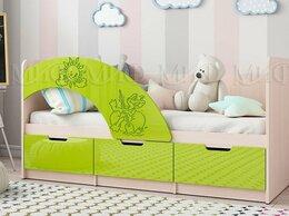 Кроватки - Кровать Юниор-3 лайм металлик, 0