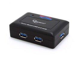 USB-концентраторы - Концентратор USB 3.0 Gembird UHB-C344 4 порта блис, 0