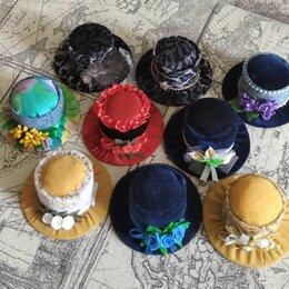 Рукоделие, поделки и товары для них - Игольницы-шляпки, 0
