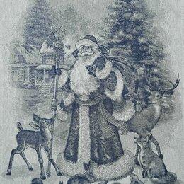 Полотенца - Полотенца кухонные жаккардовые новогодние, 0