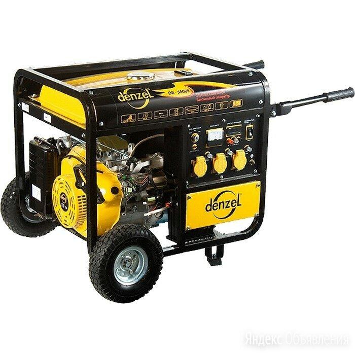 Генератор бензиновый DB8500Е, 8,5 кВт, 220 В/50Гц, 30 л, электростартер. DENZEL по цене 54805₽ - Электрогенераторы, фото 0