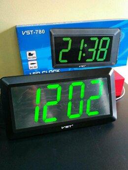 Часы настенные - VST 780-4 часы настенные с ярко-зелёными цифрами , 0