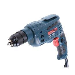 Дрели и строительные миксеры - Дрель Bosch GBM 10 RE (0.601.473.600), 600 Вт, БЗП 10 мм, 0