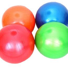 Аксессуары -  Мяч для фитнеса гимнастический, ПВХ, d85 см, 1000 гр, , в коробке,, 0
