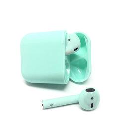 Наушники и Bluetooth-гарнитуры - Беспроводные Bluetooth наушники i12-TWS, green, 0